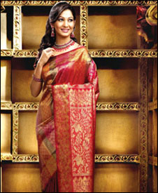 They have world largest silk saree show rooms all over Kerala and